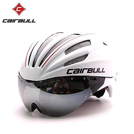 6124355568f Buy Generic Clear   CAIRBULL 2017 New Cycling Helmet MTB Road Bike Helmet  Sun Visor Bicycle Helmet Aero Helmet With Goggles Online at Low Prices in  India ...