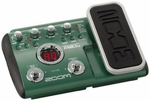 Zoom A2.1U Acoustic Effects Pedal With Usb And Expression Pedal