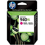 HP Cartucho de tinta magenta HP 940XL Officejet 940 Officejet Ink Cartridges, De 20 a 80% HR, De 0 a 40 °C, De 20 a 80% HR, de 15 a 35° C, 142 x 109 x 25 mm, 0.077 kg (0.17 libras)