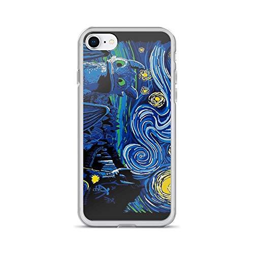 iPhone 7 Case iPhone 8 Case Clear Anti-Scratch Starry Berk, Berk Cover Phone Cases for iPhone 7/iPhone 8, Crystal Clear -