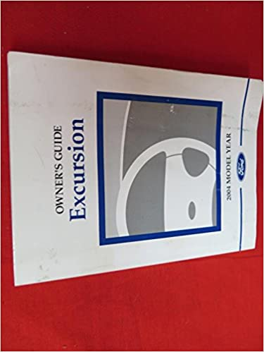 ford excursion service manual