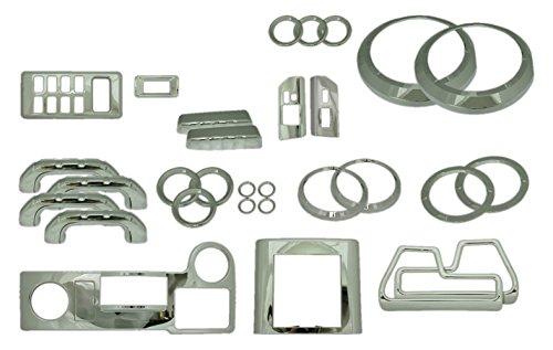 Knob Turn Signal Billet (Putco 409001 FJ Cruiser Chrome Interior Trim Kit - 35 Piece)