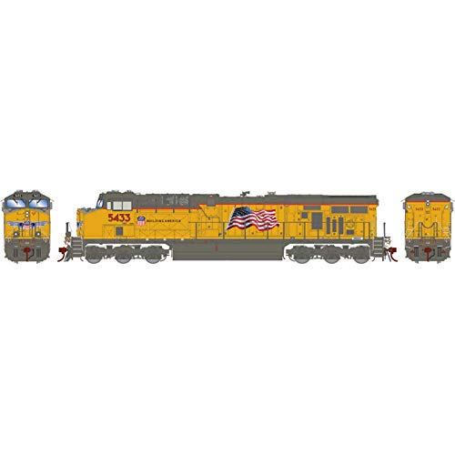 Athearn HO ES44AC UP with PTC #5433, ATHG69746