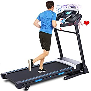 Well-Being-Matters 41MDqRYQuVL._SS300_ ANCHEER Treadmill, 3.25HP Folding Treadmills for Home with APP Control and Automatic Incline, Running Walking Jogging…