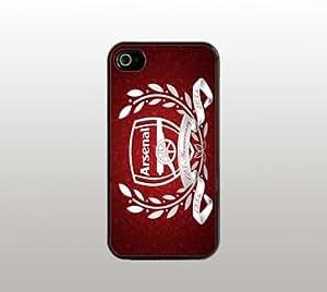 Arsenal Futbol Hard Snap-On Case for iPhone 5 - Black - Cool Custom Cover - Soccer Football