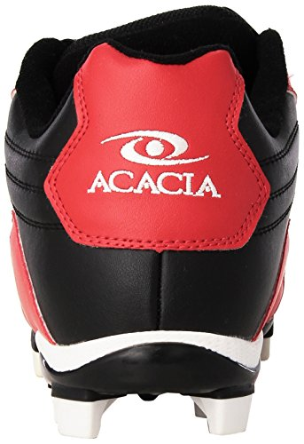 ACACIA Flyer Pro-Low Baseball/Softball Shoes Black/Red/White gbwm8D