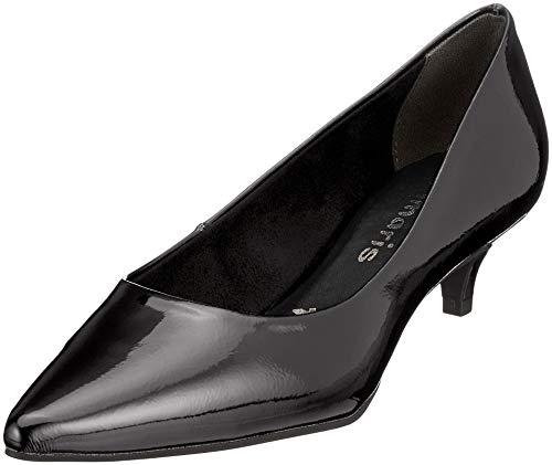 Donna Black Patent 18 Scarpe con 21 Tamaris 22307 Tacco Nero wqX808