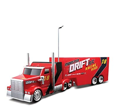 Maisto Monster Drift Racing Rigs Colors May Vary by Maisto