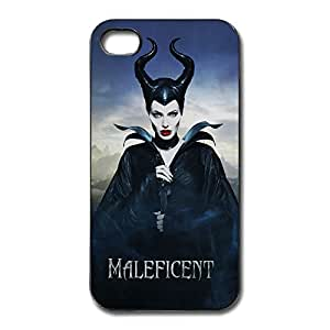 Hot Maleficent IPhone 4/4s Plastic And Aluminum Cases Snow Proof