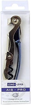 Long-Lever - Sacacorchos AIS-PRO color azul - Sacacorchos oficial de la Asociación Italiana Sommelier