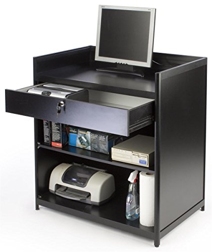 Displays2go Cash Register Stand with Locking Drawer for sale  Delivered anywhere in USA