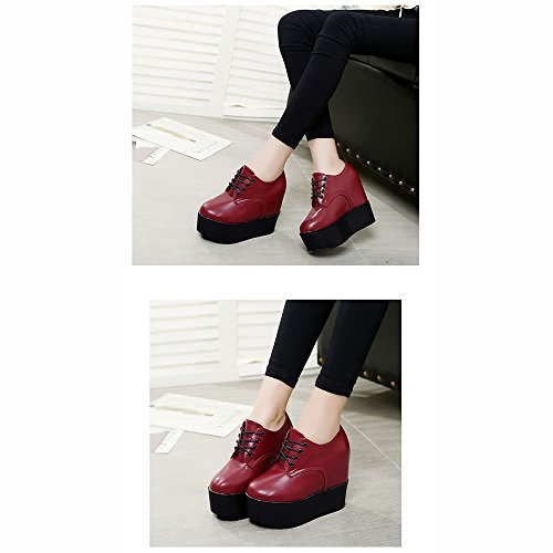 Keep Thick EU38 High Inside Women's Warm Increase LVZAIXI Color Red cozy Shoes Platform 5 UK5 Bottom Red Size shoes Shoes Shoes CN38 qSzwXwt5PT