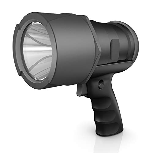 Rayovac Virtually Indestructible LED Spotlight, 750 Lumen Waterproof Spot Flashlight