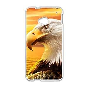 Sunset Eagle Custom Protective Hard Phone Cae For HTC One M7