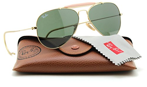 Ray-Ban RB3030 L0216 OUTDOORSMAN Cable Temples Aviator Sunglasses, - Ray Ban Outdoorsman