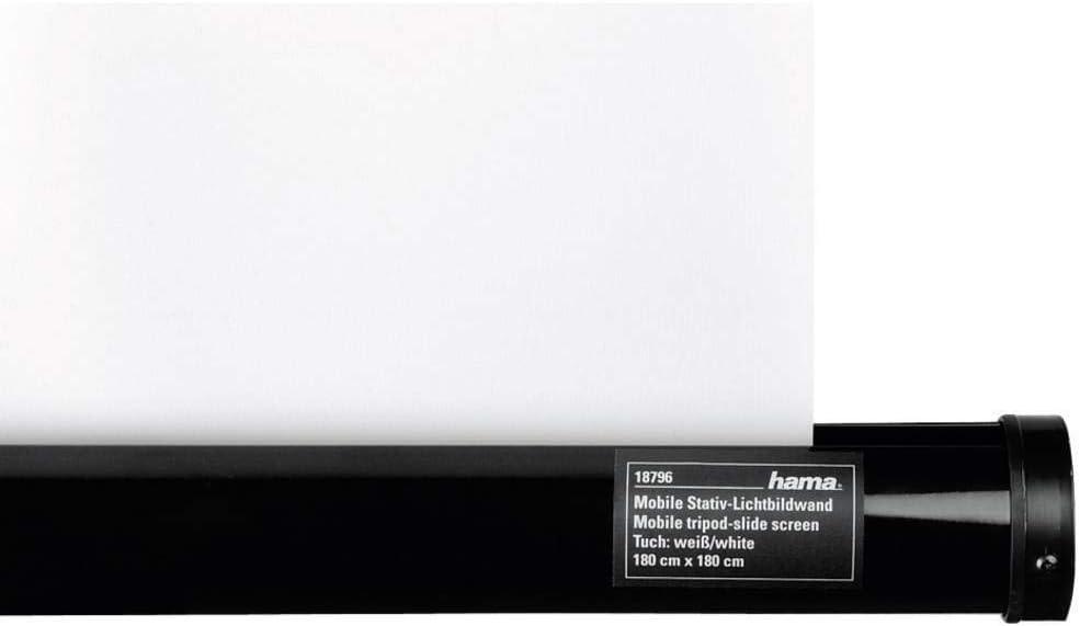 Hama 018790 - Pantalla de proyección, 125x125 cm, Color Blanco ...