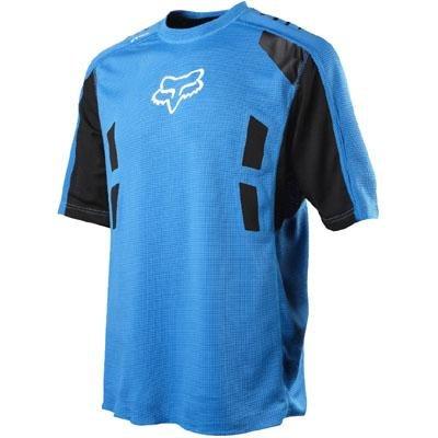 Fox Men's Attack Short Sleeve Jersey, Blue, Large Attack Short Sleeve Jersey