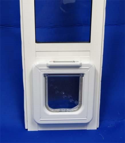 Elite 2 Door - Elite Super Selective Single Paned Patio Pet Door Insert