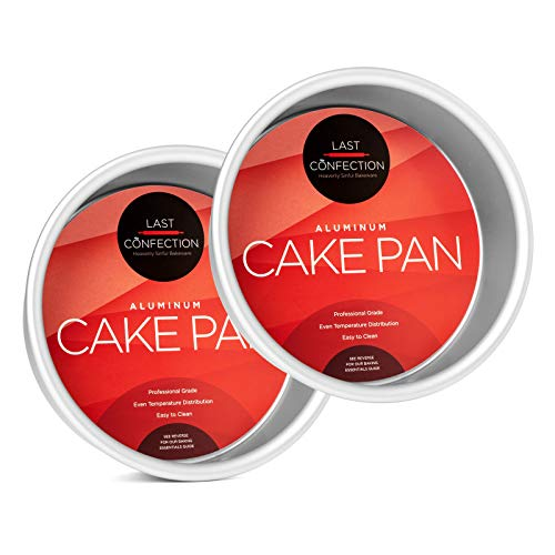 6 Inch Cake Pan (Last Confection 2-Piece Round Cake Pan Set - 6