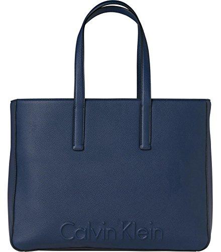 CALVI KLEIN EDGE LARGE SHOPPER 33*42*16 CM Blue