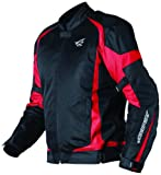 AGV Sport Blast Vented Motorcycle Jacket Red/Black Small