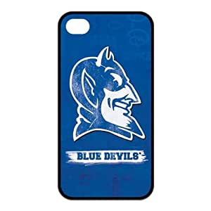 NCAA Duke Blue Devils Logo for Iphone4/4s Best Rubber Cover Case-Creative New Life