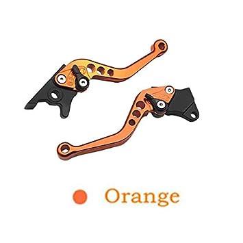 maniglia della leva del freno della frizione del motociclo della lega di un paio Winbang Maniglia del freno del motociclo viola