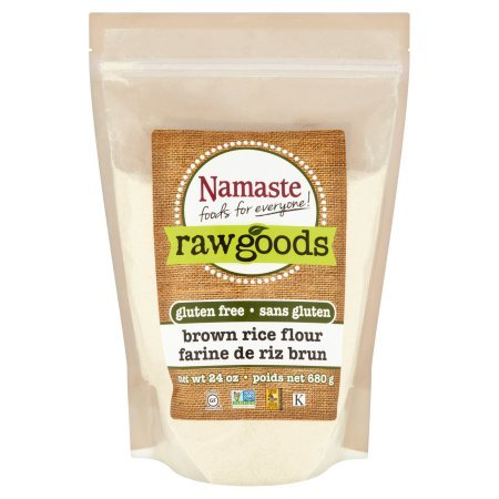 Namaste Foods Raw Goods Gluten Free Brown Rice Flour, 24 oz by Namaste