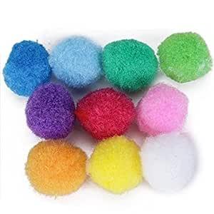 Pelota de peluche de polipropileno de colores mezclados de ...