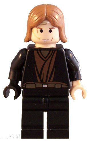 "Anakin Skywalker (Ep. 3, Black Right Hand) - LEGO Star Wars 2"" Figure for cheap"