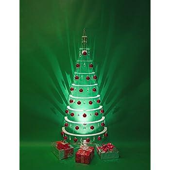 36 chandelier crystal 36 glass ball modern acrylic christmas half tree with led spotlight - Half Christmas Trees