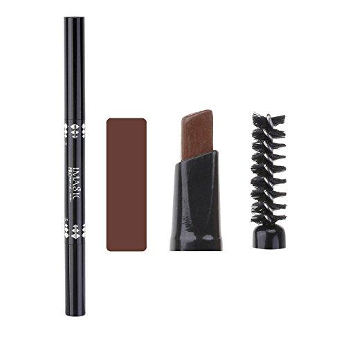 Ayliss® IMAGIC Permanent Augenbrauenstift Brauenstift Eyebrow Pencil, Wasserfest Matt #BR002 Braun