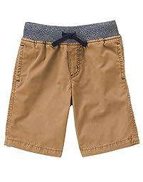 Gymboree Big Boys\' Camp Short, Dexter Tan, 8
