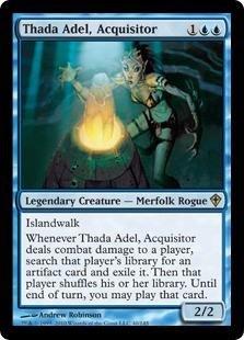 Magic: the Gathering - Thada Adel, Acquisitor - Worldwake
