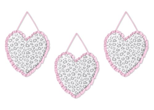 Kenya Handcrafted (Pink and Gray Kenya Wall Hanging Accessories by Sweet Jojo Designs)