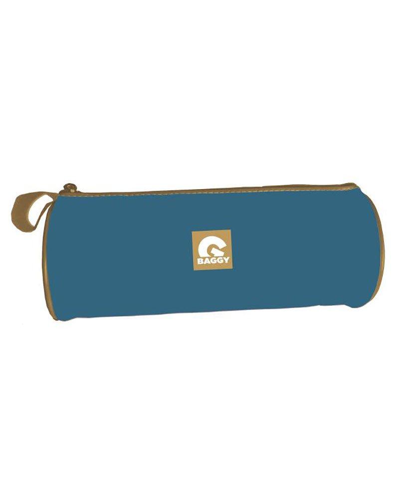 Amazon.com: BAGGY Estuche portatodo Cilindrico Blue and ...