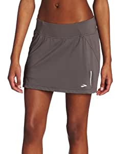 Brooks Women's PR Mesh II Skort, Slate, X-Large
