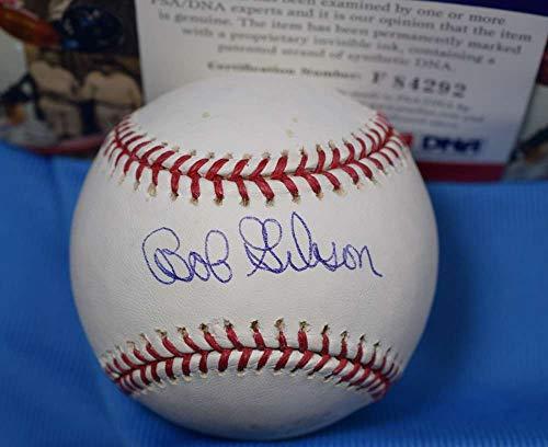 BOB GIBSON PSA DNA Coa Autograph Major League OML Hand Signed Baseball