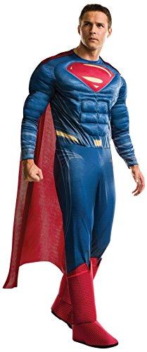 Rubie's Men's Superman Adult Deluxe Costume, Multi, Standard