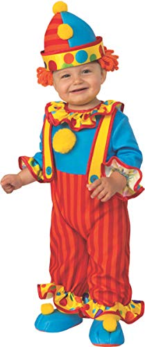 Boy Gypsy Costume (Rubie's Kid's Opus Collection Lil Cuties Little Clown Costume Baby Costume, As Shown,)