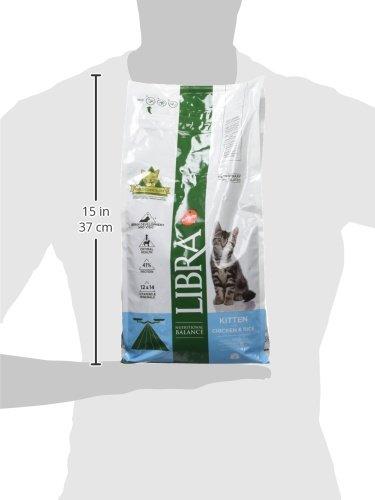 LIBRA Pienso para gatos kitten pollo y arroz 1,5 kg: Amazon.es: Productos para mascotas