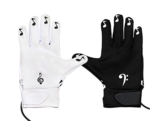 Playable Interactive Piano Hand Music Gloves
