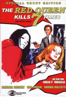 The Red Queen kills 7 Times - Special Uncut Edition (Cover B) (1972) ()