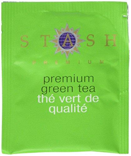 Stash Tea prime thé vert, 100 comte Boîte de sachets de thé en feuilles