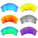 Revant Replacement Lenses for Oakley Flak Jacket XLJ 6 Pair Combo Pack K027