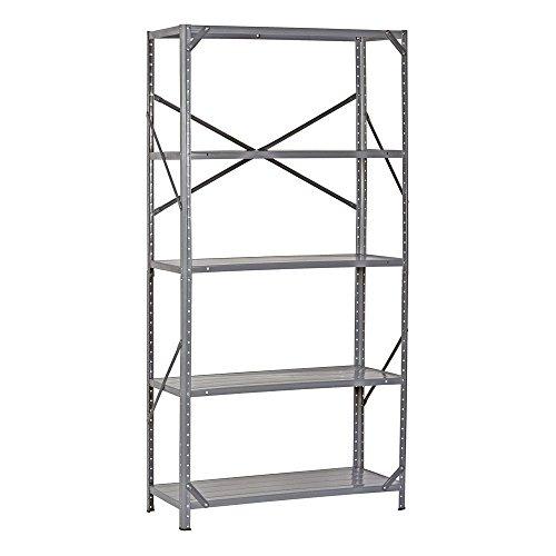 Heavy Duty Storage Shelf Steel Metal Garage Rack 5 Level Adjustable Shelves - Winnipeg Iphone Store