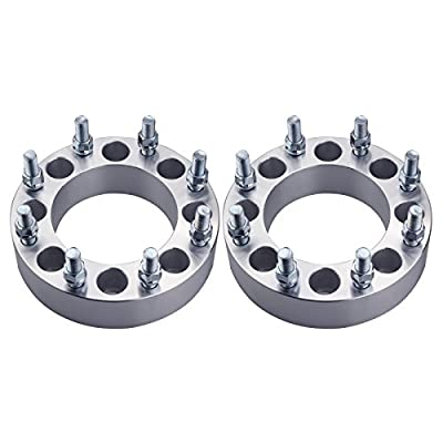 DCVAMOUS 2pc 8 Lug 8x6.5 to 8x180 Wheel Adapters 1.5