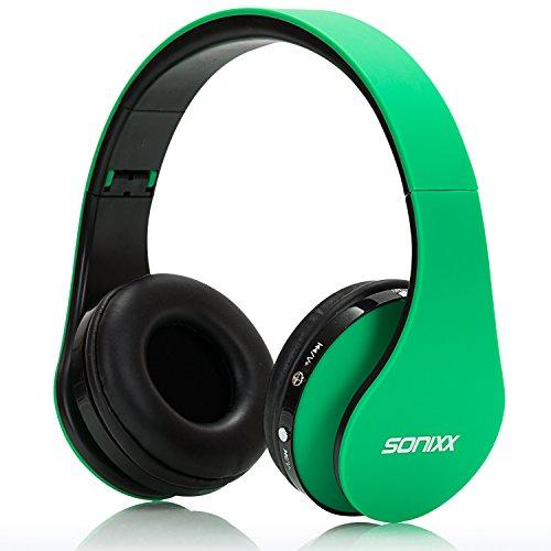 Sonixx BTX1 Bluetooth Headphones Green product image