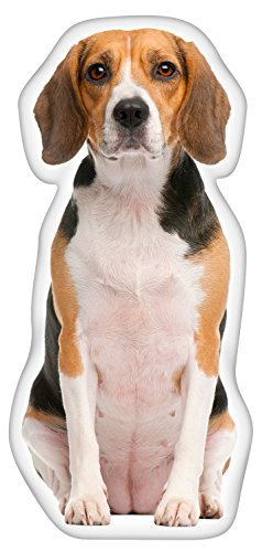 iLeesh Beagle Shaped Pillow