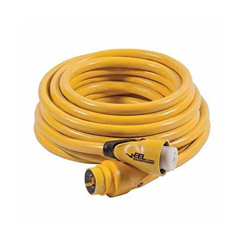 Marinco EEL 30-Amp 125-Volt Cord Set, Yellow, 50-Feet